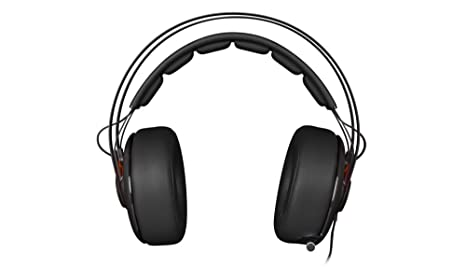 SteelSeries Siberia Elite Prism - Auriculares Gaming, Color Negro