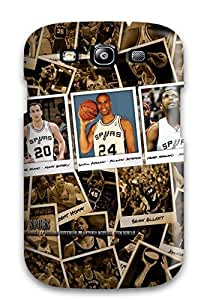 For HTC One M9 Case Cover Hybrid Hard shell Silicon Bumper San Antonio Spurs Basketball Nba (16)