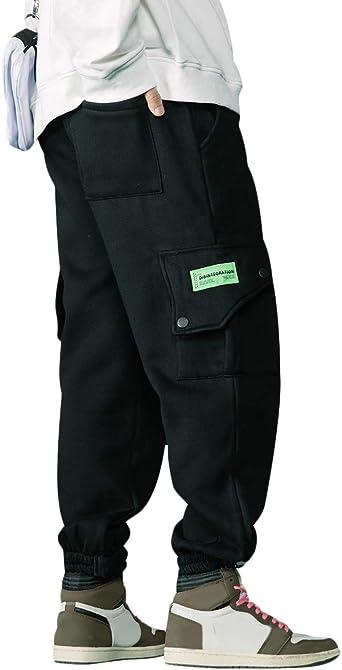 Irypulse Unisex Espesar Cargo Pantalones Combate Trousers Flojo Casual Moda Ropa Calle Pants Para Hombres Mujeres Jovenes Otono Invierno Amazon Es Ropa Y Accesorios