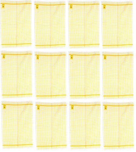 Samuel Lamont & Sons Poli-Dry Tea Towel (12, Gold) by Samuel Lamont & Sons