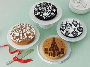 Martha Stewart Crafts Holiday Cake Stencils