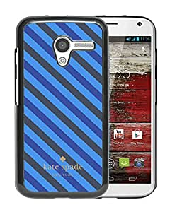 Fashionable And Unique Kate Spade Cover Case For Motorola Moto X Black Phone Case 277