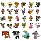 "5PCS Littlest Pet Shop Figures PVC Collection Toys Random Style 2"" Kids Gift"