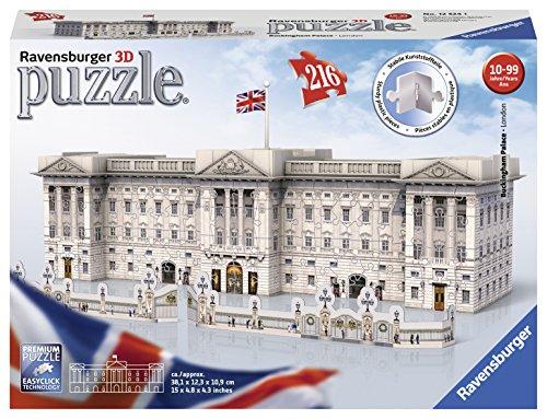 (Ravensburger Buckingham Palace, 216pc 3D Jigsaw Puzzle)