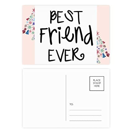 Amazon Com Friendship Best Friend Ever Words Quotes Christmas Tree