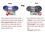 TronicsPros 20m 65.6ft 4 Pin 4 Color RGB