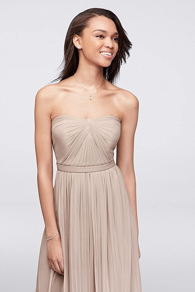 1478e27671b David s Bridal Convertible Versa Long Mesh Bridesmaid Dress Style F15782