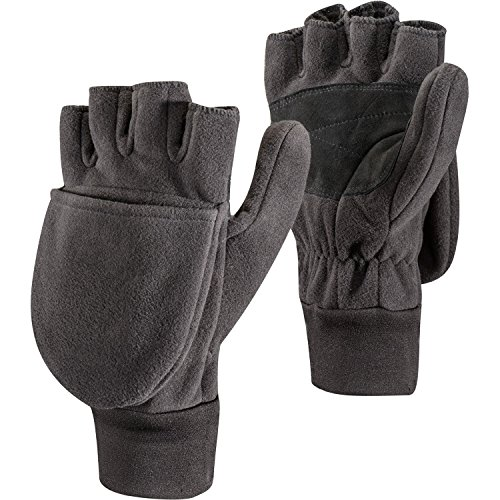 (Black Diamond Windweight Fleece Mitts - Black Medium)