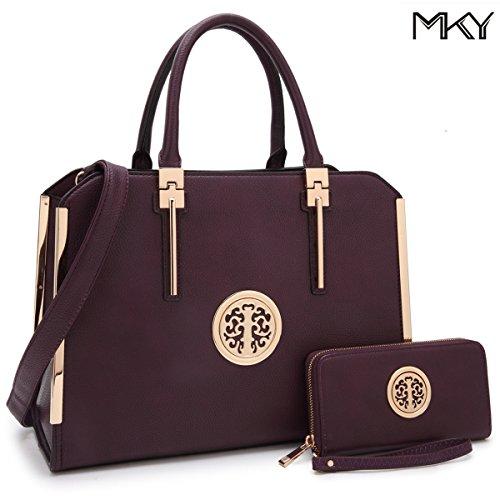 Purple Designer Handbags - 9