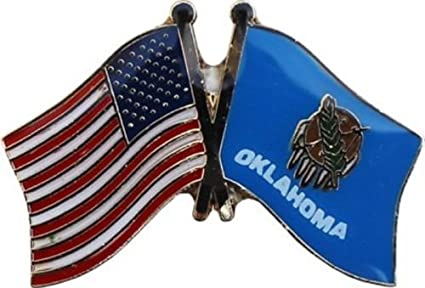 Amazon com: Wholesale Pack of 50 USA American Oklahoma State Flag