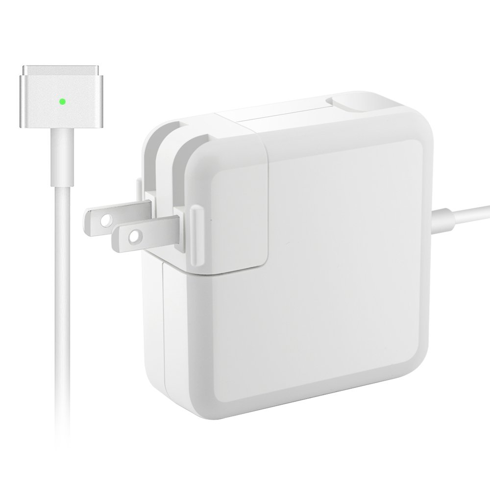 Born for Mac Notebook Small Part Macbook Air Best Version, Great Replacement 45W Magsafe 2 Magnetic T-Tip Power Adapter Charger