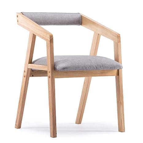 Amazon.com: Sillas de salón muebles hogar madera maciza ...