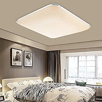 HENGDA 36W Modern LED Deckenleuchte Schlafzimmer Wohnzimmer Lampe 230V  Warmweiß 2700K-3200K