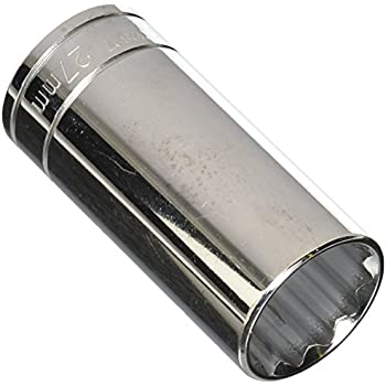 Williams 32812 12 Point Deep Socket with 1//2-Inch Drive 12mm