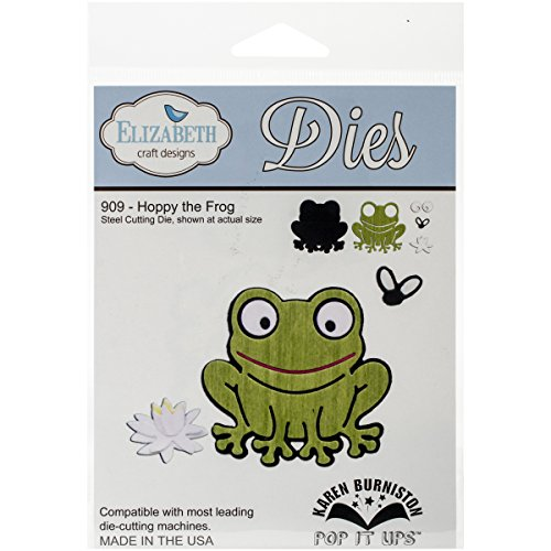 Elizabeth Designs Metal Die-Hoppy The Frog
