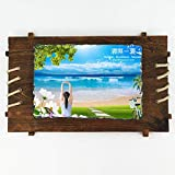 Samantha Customized Slate Paintings, Personalized Graduation Photos Birthday Wedding Decoration