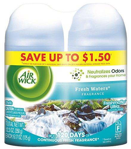 air wick freshmatic automatic spray refill air freshener fresh waters 2 refills 1234oz best air freshener for office