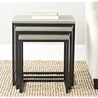 Safavieh American Homes Collection Kaleb French Grey Nesting Tables