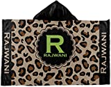 RNK Shops Granite Leopard Kids Hooded Towel (Personalized)