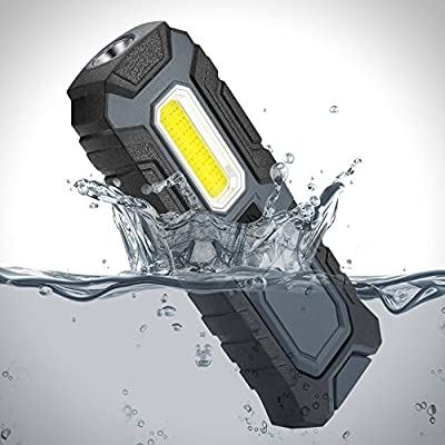 LED Flashlight 5W COB 400lumen Portable Work Light 2 in 1 function Worklamp
