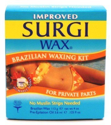 Surgi WAX Brazilian Waxing Kit for Private Parts 113 grm by Surgiwax