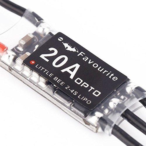 e 20A 2-4s OPTO Speed Electric ESC Control For QAV250 Quadcopter ()