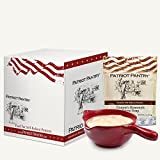 Patriot Pantry Granny's Homestyle Potato Soup Case Pack (32 servings, 8 pk.) Bulk Emergency Storage Food Supply, Up to 25-Year Shelf Life