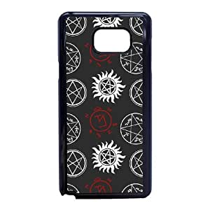 Samsung Galaxy Note 5 Cell Phone Case Black Supernatural F6701505
