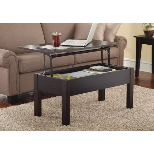 Mainstays Lift Top Coffee Table color