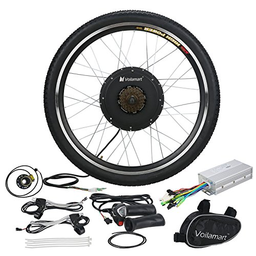 "Voilamart 26"" Rear Wheel E-bike Hub 48V 1000W Electric Bi..."