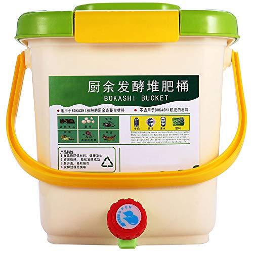 SODIAL Contenedor de Compostaje de 12L Reciclar Compostador ...