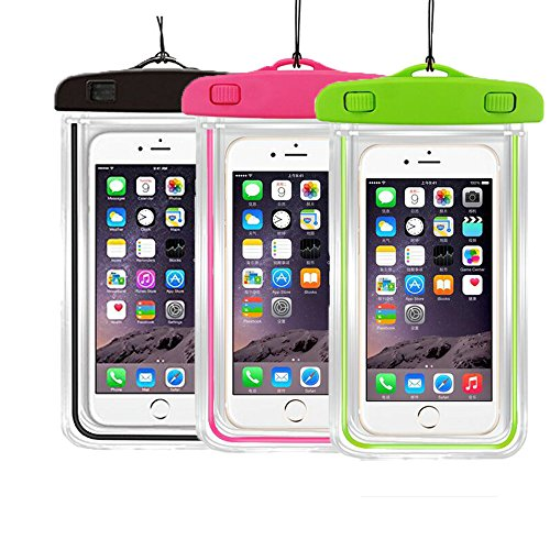 3PackUniversal Waterproof Transparent Submersible Cellphones product image