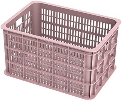 Adulte Crate M Caisse de v/élo pour Porte-Bagages Avant Noir 40 cm x 33 cm x 25 cm Basil Mixte