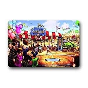 Cool Show Vintage Circus Custom Non-Woven Fabric Top,Indoors/Outdoors Doormat 23.6 x 15.7