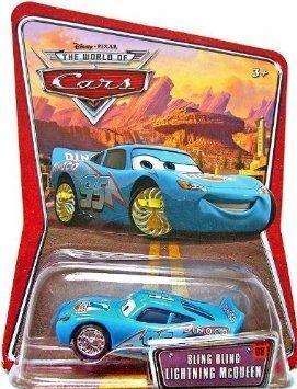 (Disney Pixar Cars Bling Bling Lightning McQueen 1:55 Die-cast)