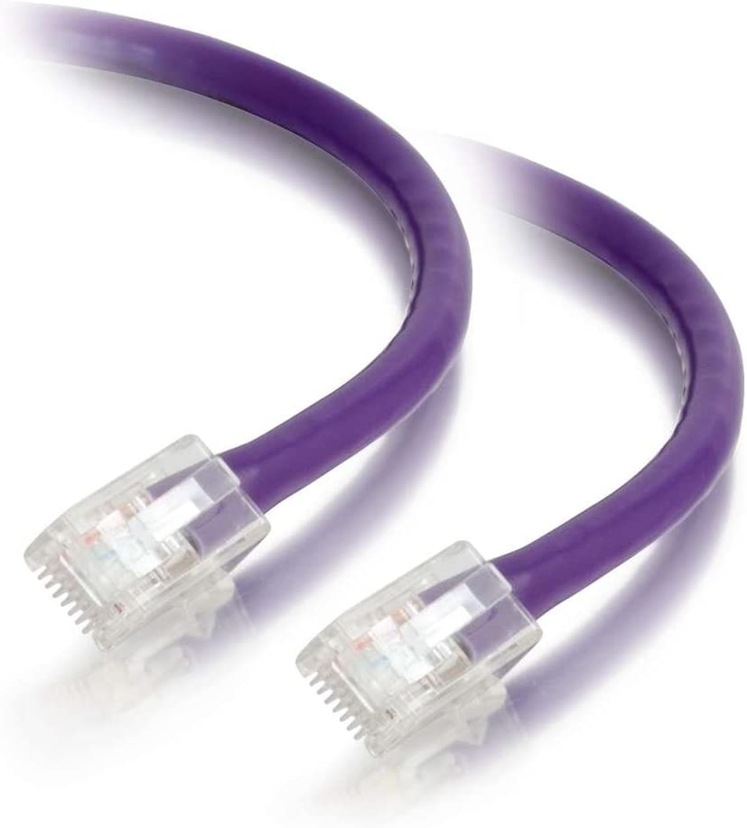 Non-Booted Unshielded Ethernet Network Patch Cable 6 Inches C2G 00950 Cat5e Cable Pink
