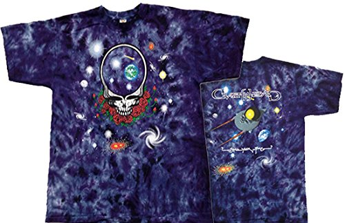 Tie Dyed Shop Space Your Face Grateful Dead Tie Dye T Shirt-XLarge-Multicolor