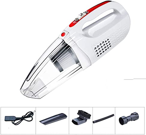 CYX-vacuum cleaner Aspirador de Mano 120W 4000 mbar Aspirador Potente Aspirador de succión para automóviles, Cocina, Limpieza de Cabello de Mascotas,White,Wireless: Amazon.es: Hogar