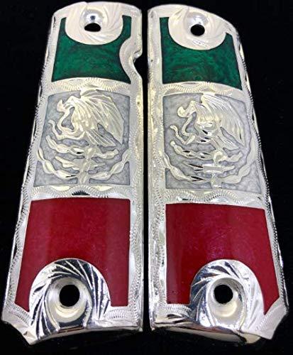 Amazon.com: Blancas Jewelry 1911 - Empuñaduras para pistola ...