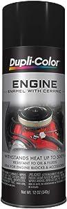 Dupli-Color Gloss Black 12 Ounce EDE161307 Ceramic Engine Paint-12 oz