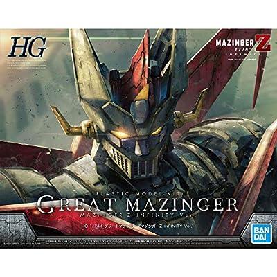 Mazinger Z Great Mazinger (Mazinger Z Infinity Ver.), Bandai HG 1/144: Toys & Games