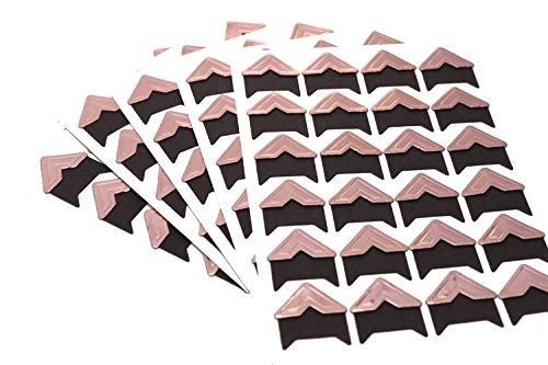 Self-Adhesive Photo Corners (Pack of 240) Rose - Gold Corners Photo