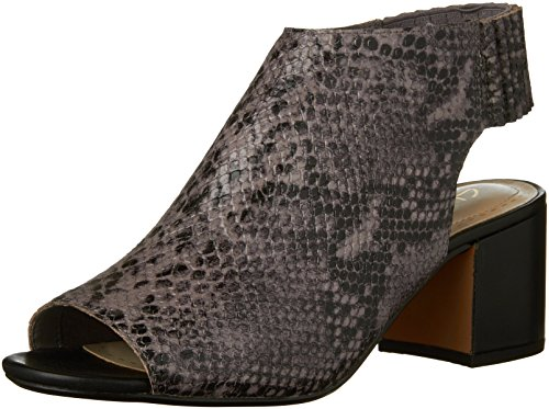 Clarks Womens Orge Charme Ouvert Bout Ouvert Bootie Violet Gris