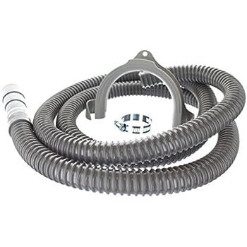 Amazon com: GE WH41X10096 Washing machine corrugated drain hose