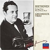 ベートーヴェン:弦楽三重奏曲第2番-第4番