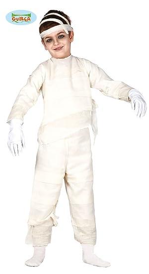 Disfraz de Momia infantil talla 7-9 años: Amazon.es: Juguetes y juegos
