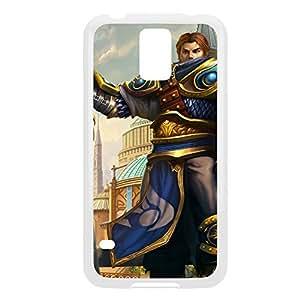 Garen-001 League of Legends LoL case cover Ipod Touch 5 - Plastic White