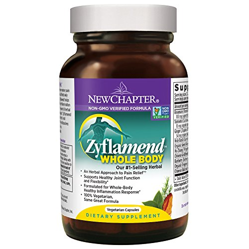New Chapter Zyflamend Whole Body Joint Supplement, Herbal Pain Reliever for Inflammation Response - 120 (Overall Body)
