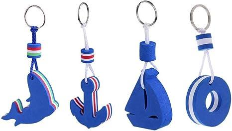 10 Stücke Schlüsselanhänger mit Schlüsselring Schwimmend Für Kanu Kajak