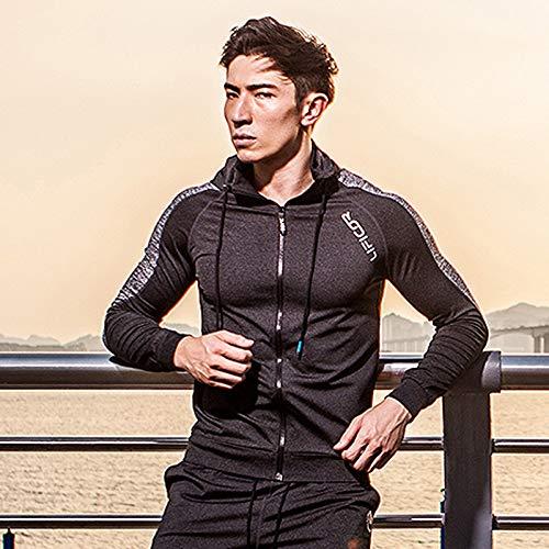 Wuxingqing Conjunto de Ropa de Hombre Hombres Deportes Conjunto de ...